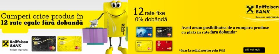 Plata cu cardul prin Raiffaisen Bank